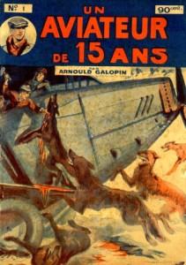 Un aviateur de 15 ans - Arnould Galopin